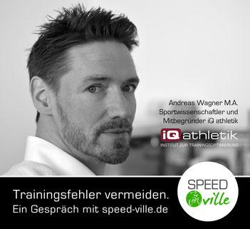 Andreas Wagner von iQ athletik im Gespräch mit speed-ville.de