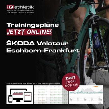 Trainingspläne für die Skoda Velotour bei Eschborn-Frankfurt