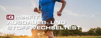 Fitnessanalyse auf dem Laufband oder Ergometer in Frankfurt