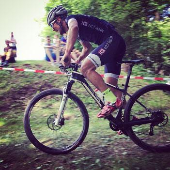 Von iQ athletik trainierte Mountainbiker zeigen starke Leistungen