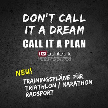 Trainingspläne für Triathlon, Radsport und Marathon