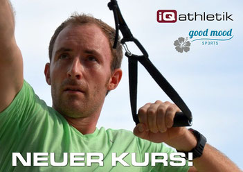 Ab 4. April startet wieder das iQ athletik Outdoortraining mit Tobias Hopf