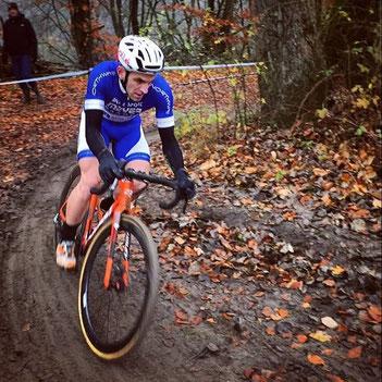 Der von iQ athletik trainierte Radsportler Gerrit Rosenkranz wird RLP-Vizemeister im Radcross