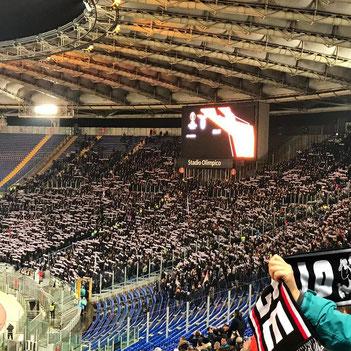 Eintracht Frankfurt stellt in Rom einen historischen Erfolg auf