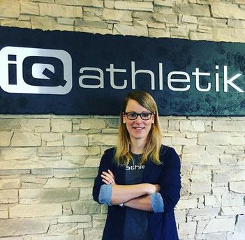 Dr. Katrin Stücher, Leiterin des Bereiches Ernährungswissenschaften bei iQ athletik
