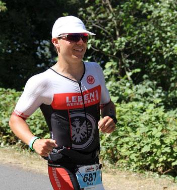 Max Stadler wird Vize-Europameister auf der Ironman Langdistanz in seiner AK