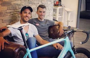Einstellen der Sitzposition (Bikefitting) auf dem Rennrad