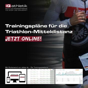 Trainingspläne für Triathlon-Mitteldistanz