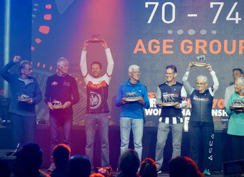 Jürgen Bäuerle wird starker 3. bei der 70.3 Weltmeisterschaft in Port Elizabeth