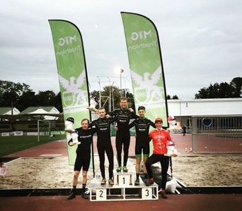 Star Cross Mannheim Podium mit Radsport360 Racing Team