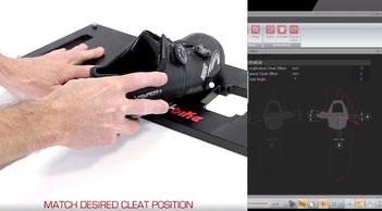 Optimales Einstellen der Schuhplatten mit 3D-Scan