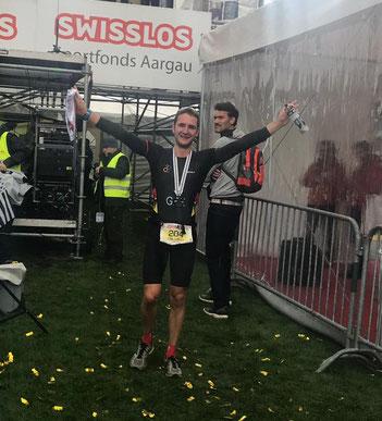 Weltmeister und Sieger beim Powerman-Duathlon: Tobias Eise