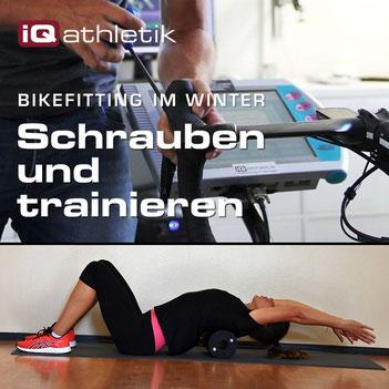 Bikefitting im Winter mit zusätzlichem Muskelfunktionstest
