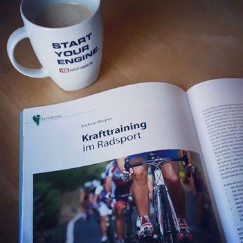 Artikel über Krafttraining im Radsport