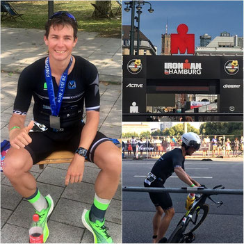 Philipp Mock wird beim Ironman Hamburg starker Fünfter und sichert sich den Deutschen-Vizemeistertitel