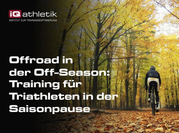 Triathlontraining in der Saisonpause