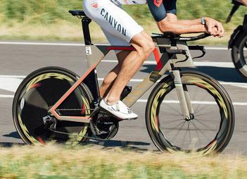 Radfahren beim Ironman