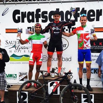 Gerrit Rosenkranz siegt beim Grafschafter XCO-Rennen