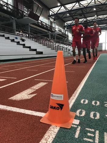 Der SV Wehen-Wiesbaden startet mit einem Laktattest in die 2. Saisonhälfte