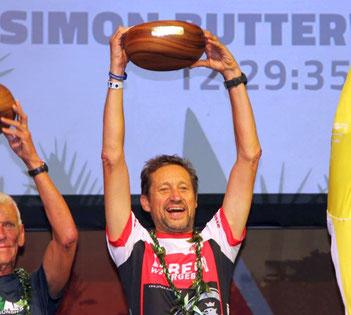 Triathlet und Ironman-Vizeweltmeister Jürgen Bäuerle beim Ironman Hawaii