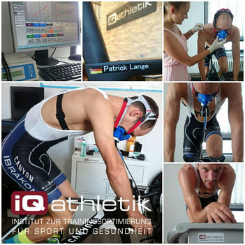 Patrick Lange zur Leistungsdiagnostik bei iQ athletik