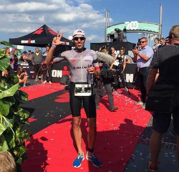 Horst Reichel wird nach Patrick Lange starker 3. beim Ironman 70.3 Rügen