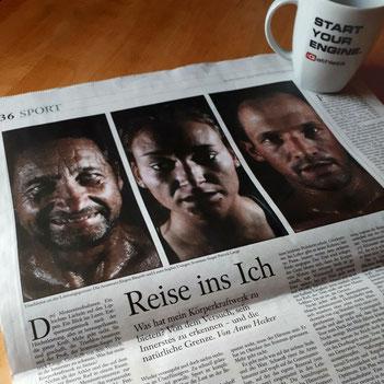 Zeitungsartikel FAZ Reise ins Ich