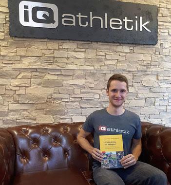 Mountainbiker Tobias Eise präsentiert Krafttraining im Radsport