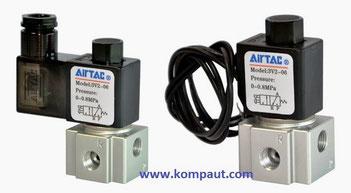 Kompaut, elettrovalvole Airtac serie 3V2 a comando diretto