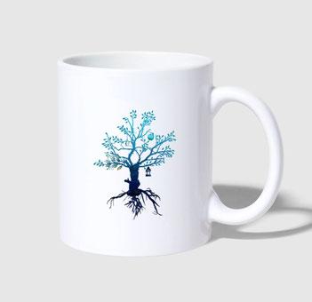 Wir alle lieben unseren Guten Morgen Kaffee. Genieße den Start und das frische Gefühl aus dieser Lebensbaum Tasse. deisoldcreations schafft ein neues Lebensgefühl mit einfachen Designs.