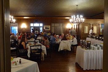 Carriage House Restaurant in der Stanton Hall, Natchez, Mississippi