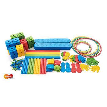 Kit d'apprentissage complet de l'équilibre pour enfants. Matériel sportif et pédagogique enfants à acheter pas cher.