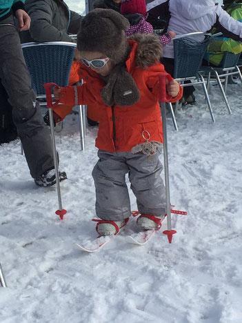foto kleuter ski