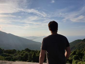 Ausblickspunkt Hai Van Pass, Vietnam
