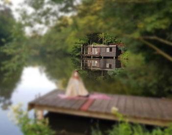 wlanfreier Urlaub im Saarland am See, Alleinlage, Urlaub im Funkloch