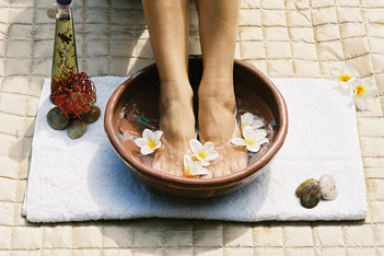 Fußpflege Massagen Wellness Ayurveda mobil Hadler Peine