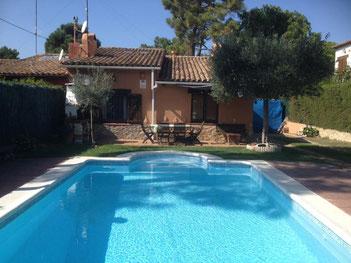 Villas avec piscine privée, barbecue pour 7 personnes à Begur