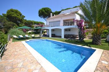 Maison de vacances  Begur pour 8 personnes avec piscine privée et beau jardin