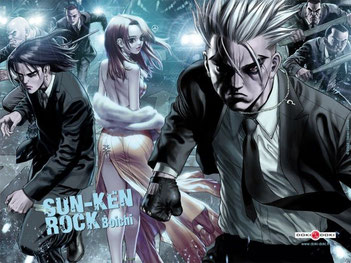 Sun-Ken Rock est un seinen de genre Action, Comédie et Ecchi Trash! Source: https://www.tvhland.com/articles/sun-ken-rock-boichi-reimpressions-mangas-et-fonds-ecrans-/article-5997.html
