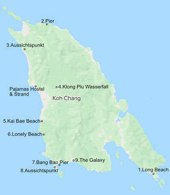 map-route-koh-chang