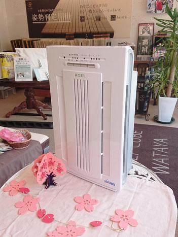 アクティブイオンでウィルスを抑制する空気清浄機を導入 / マニステージ福岡