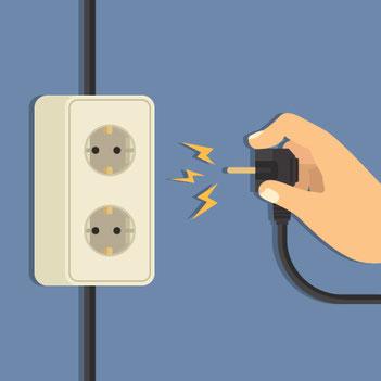 identification des zones à risque électrique