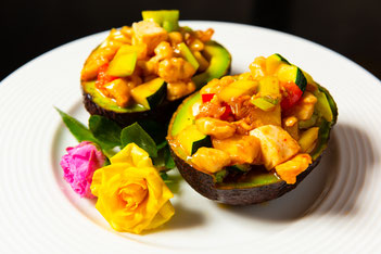 魚香鶏丁豆腐(鶏肉と豆腐の辛子炒め)