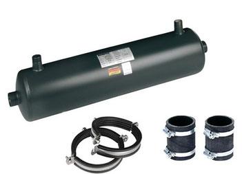 Wärmetauscher SWT 100 - 52 von Behncke 45 kW Niedertemperaturheizungssystem Wärmepumpe Solar