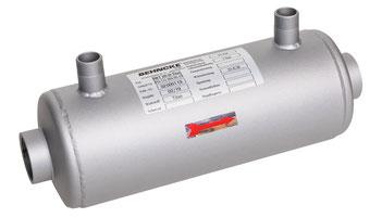 Wärmetauscher SWT 100 - 40 Titan von Behncke 35 kW Niedertemperaturheizungssystem Wärmepumpe Solar