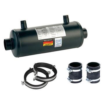Wärmetauscher QWT 100 - 40 von Behncke 30 kW