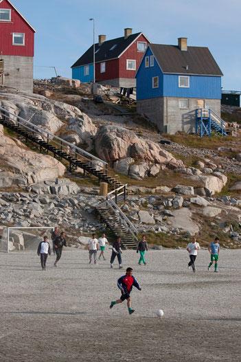 Grönland, Fussball, Ilulissat