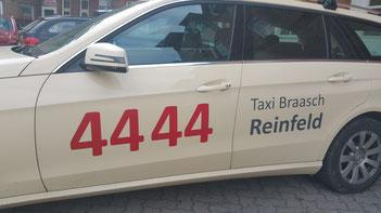 Mercedes E-Klasse Taxi.