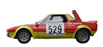 lancia fulvia coupé marlboro 1973 complete graphics pubblimais
