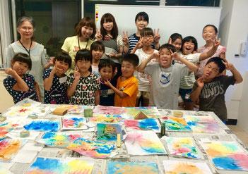 「かっぱの寺子屋」夏休み課外体験教室